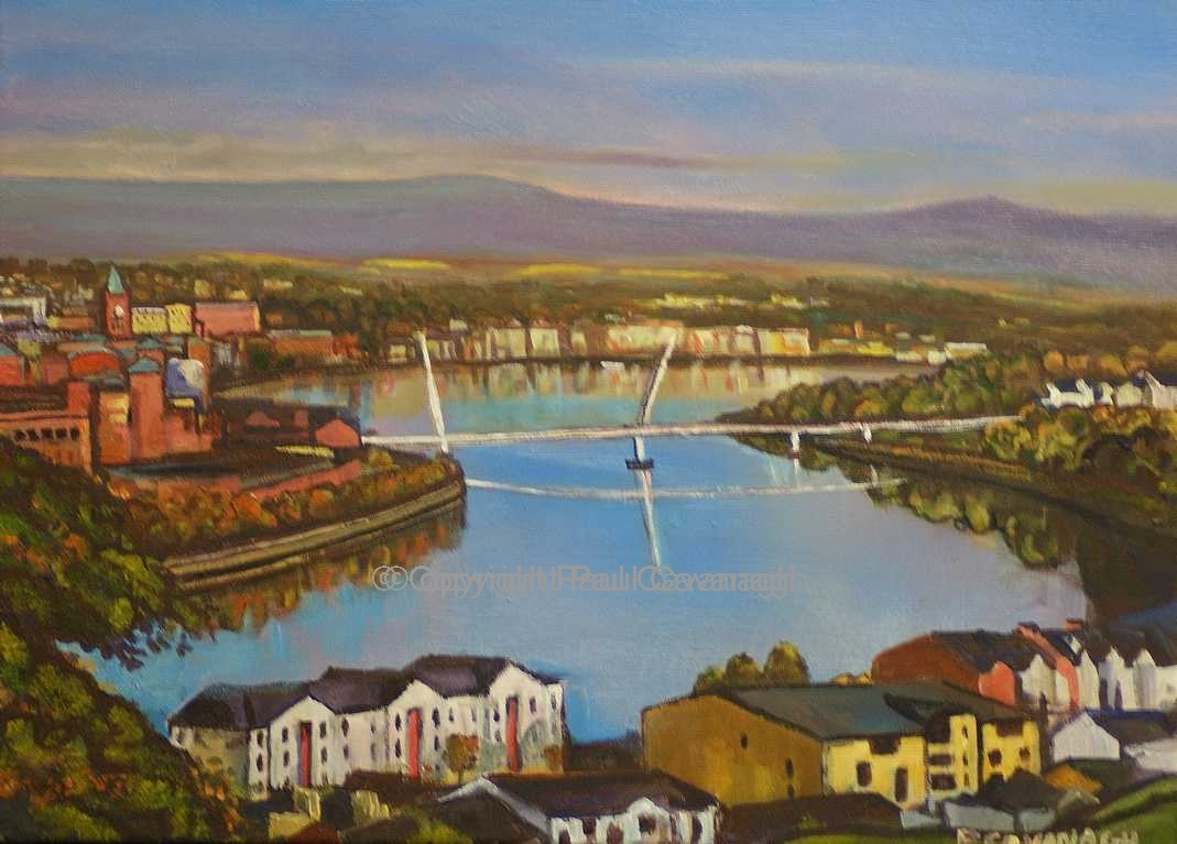 Derry City and the River Foyle