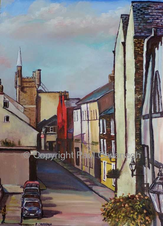 London Street from the walls by Paul Cavanagh