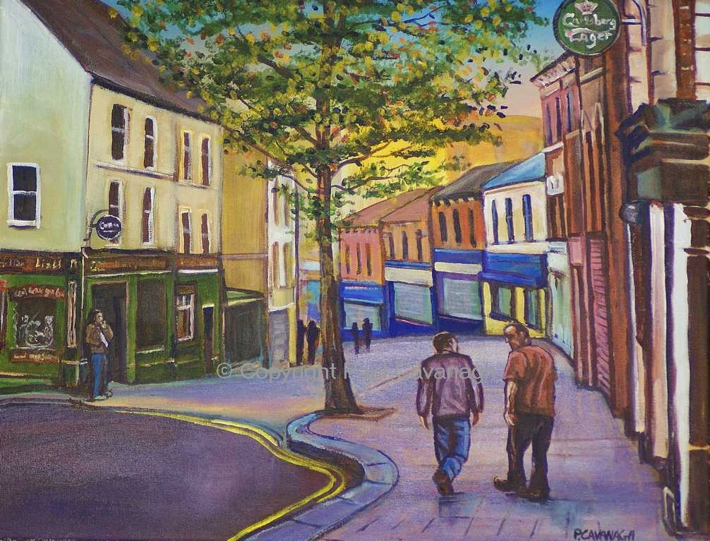 Waterloo Street, Derry, UK City of Culture 2013