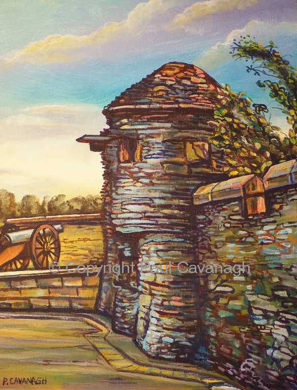 Derry Walls, The Sentry Post by Paul Cavanagh