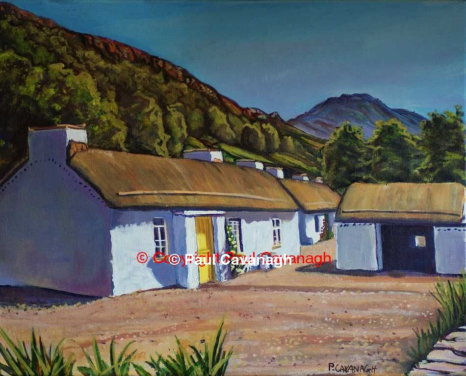 Mamore Cottages by Paul Cavanagh